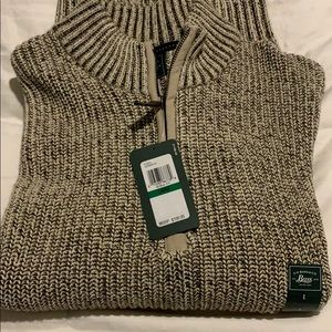 G.H. Bass Factory Outlet Sweater NWT